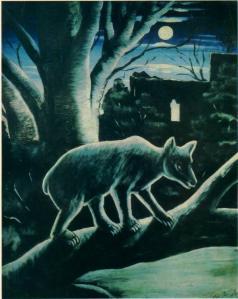 1914, დათვი მთვარიან ღამეში