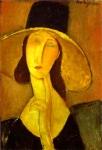 ჟანა ებიუტერნის პორტრეტი, ამადეო მოდილიანი, 1917