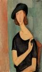 ჟანა ებიუტერნის პორტრეტი, 1919