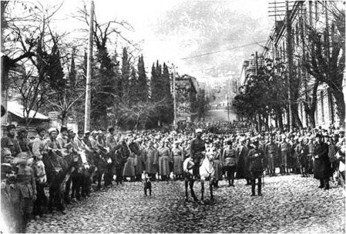 წითელარმიელების შემოსვლა საქართველოში, 1921 წლის თებერვალი