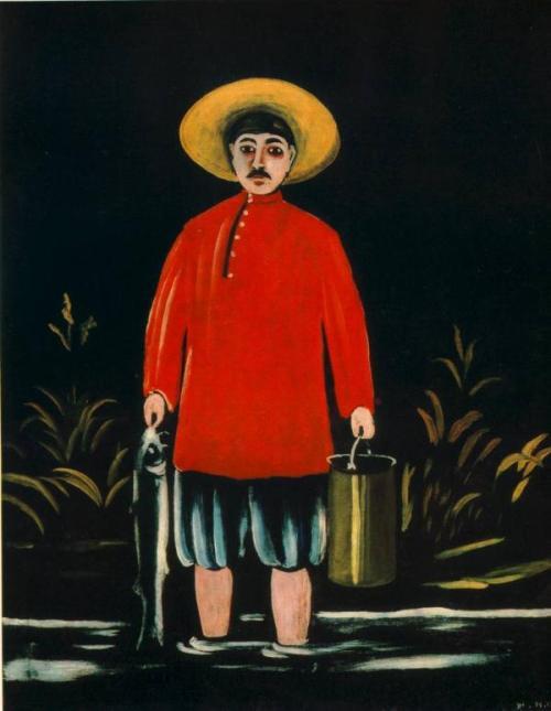 მეთევზე (წითელ პერანგში)