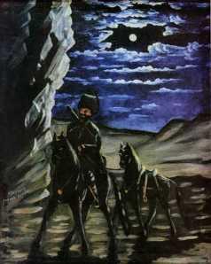 ყაჩაღმა ცხენი მოიპარა (ცხენის ქურდი)