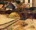 ბაღი, პოლ გოგენი, 1884 წ.