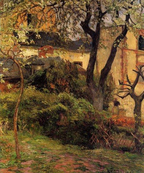 გაზაფხული, რუანი, პოლ გოგენი. 1884
