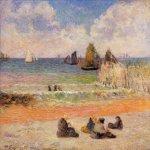 მობანავენი ზღვასთან, პოლ გოგენი, 1885