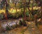 ბიჭი მდინარეზე, პოლ გოგენი, 1885