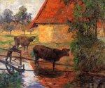მდინარესთან, პოლ გოგენი, 1885