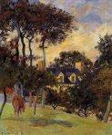 თეთრი სახლი, პოლ გოგენი, 1885