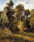ტყის წვერი, პოლ გოგენი, 1885