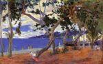 ზღვის ნაპირთან, პოლ გოგენი, 1887