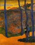 ლურჯი ხეები, პოლ გოგენი, 1888