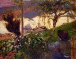 ბრეტონელი ბიჭი მდინარესთან, პოლ გოგენი, 1888