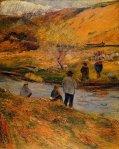 ბრეტონელი მეთევზეები, პოლ გოგენი, 1888
