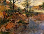 მდინარესთან, პოლ გოგენი, 1888