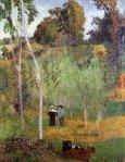 მწყემსები ყანაში, პოლ გოგენი, 1888