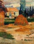 თიბვა, არლის პეიზაჟები, პოლ გოგენი, 1888