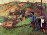 პატარა ბრეტონელი შეფერდი, პოლ გოგენი, 1888