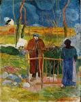 გამარჯობა ბატონო გოგენ. პოლ გოგენი. Bonjour Monsieur Gauguin. 1889