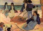1889, Christ in the Garden of Olives, ქრისტე გეთსიმანიის ბაღში. პოლ გოგენი. Paul Gauguin