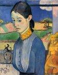 1889, ახალგაზრდა ბრეტონელი. პოლ გოგენი. Paul Gauguin