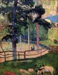 1889, ნოსტალგიური გასეირნება. პოლ გოგენი. Paul Gauguin