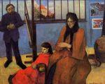1889, შუფენეკერების ოჯახი. პოლ გოგენი. Paul Gauguin