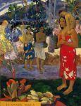 1891, გამარჯობა მარია, Hail Mary. პოლ გოგენი. Paul Gauguin