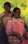 1899, ტაიტელი ქალი და ბავშვი. პოლ გოგენი. Paul Gauguin