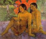 1901, And the Gold of Their Bodies. პოლ გოგენი. Paul Gauguin