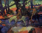 1901, ბროდი, რბენა. პოლ გოგენი. Paul Gauguin