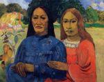 1902, ორი ქალი (დედა და შვილი). პოლ გოგენი. Paul Gauguin
