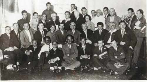 ქართველი მწერლები მწერალთა საკავშირო პირველ ყრილობაზე, 1934 წ.