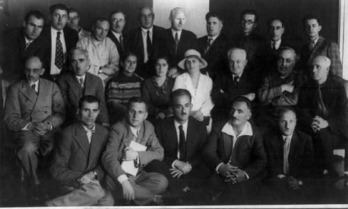 ქართველი მწერლები მწერალთა საკავშირო პირველ ყრილობაზე, 1934 წ