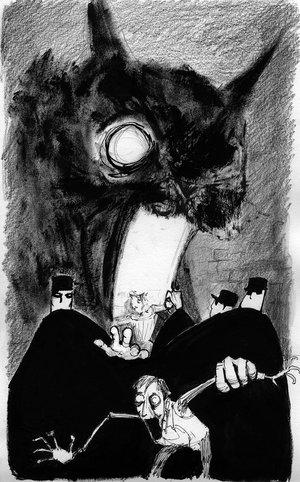 ედგარ პო შავი კატა