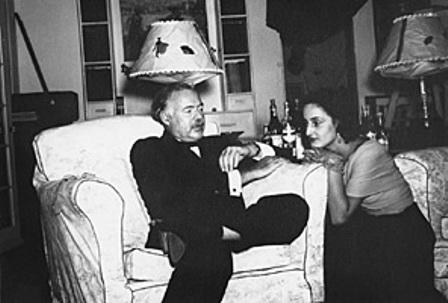 Hemingway with Adriana Ivancich
