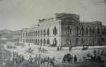 თეატრი ქარვასლა. 1850-იანი წლები - Tbilisi Theatre-Caravanserai, 1850s