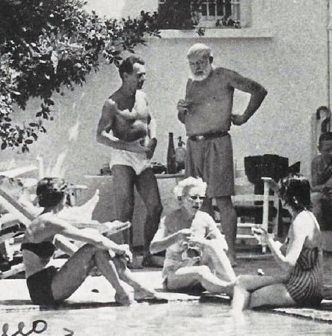 ზღვის ნაპირზე, ლაკონსულა, მალაგა, ესპანეთი, 60 წლის დაბადების დღის დილა, 1959 წ.