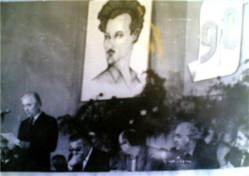 წალენჯიხის ყოფილ კულტურის სახლში ტერენტის დაბადების 90-წლისთავისადმი მიძღვნილი საიუბილეო საღამო