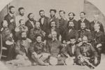 ილია ჭავჭავაძე დუშეთის საზოგადოებაში (მეორე რიგში, მარჯვნიდან მესამე), 1873