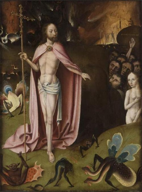 Bosch follower Christ in Limbo
