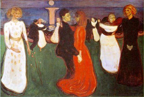 """""""ცხოვრების ცეკვა"""", ედვარდ მუნკი, 1895"""