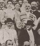 ილია ჭავჭავაძე სოხუმში შერვაშიძეთა ბაღში (დეტალი) 1903 წლის მაისი (დეტალი)