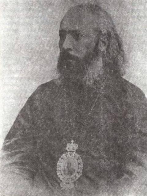 მისი უწმინდესობა და უნეტარესობა კირიონ II კათალიკოზად კურთხევამდე, 1917 წ.
