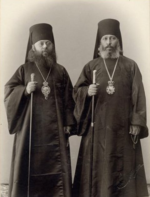 ლეონიდე ოქროპირიძე და კირიონ საძაგლიშვილი, 1906 წ. პეტერბურღი