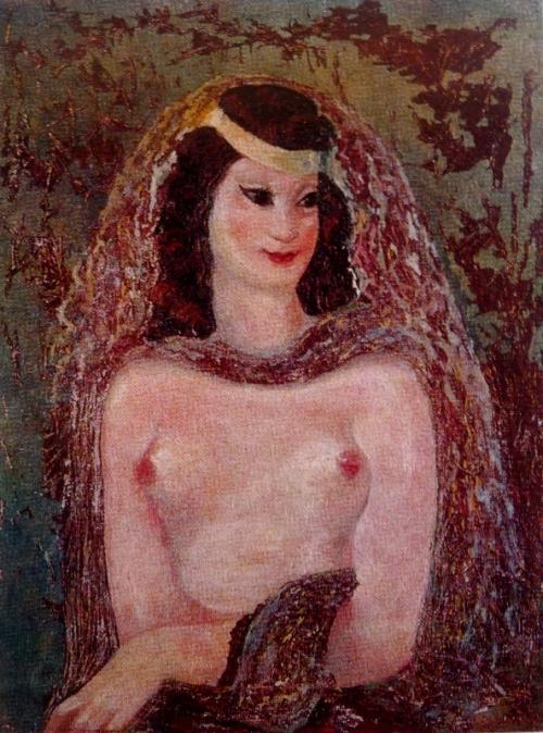 რიწის ლამაზმანი – ლადო გუდიაშვილი. Lado Gudiashvili. 1940