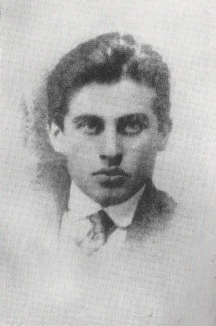 ტიციან ტაბიძე, 1914 წ.