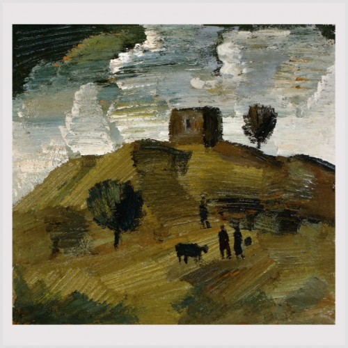 ქართლის პეიზაჟი - Landscape of Qartli. 1987