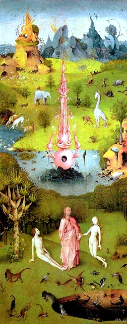 მიწიერ სიამოვნებათა ბაღი, ჰიერონიმუს ბოსხი