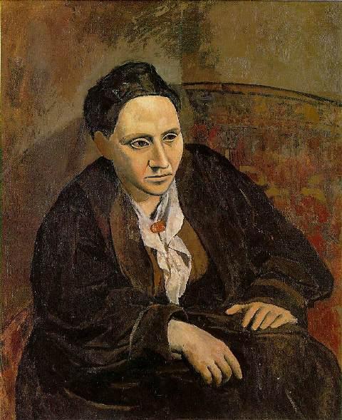გერტრუდა სტაინის პორტრეტი, 1905-1906