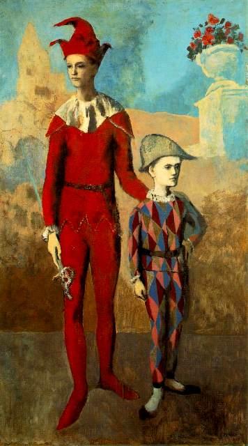 ჯამბაზი და ყმაწვილი არლეკინო, 1905